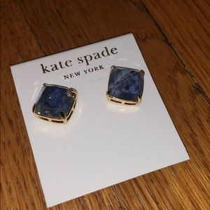 Kate Spade square stud earrings NWT